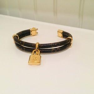 Louis Vuitton Keep It Twice Monogram Bracelet